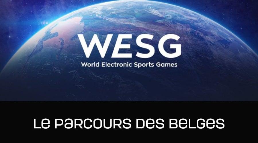 WESG 2017 - le parcours des belges