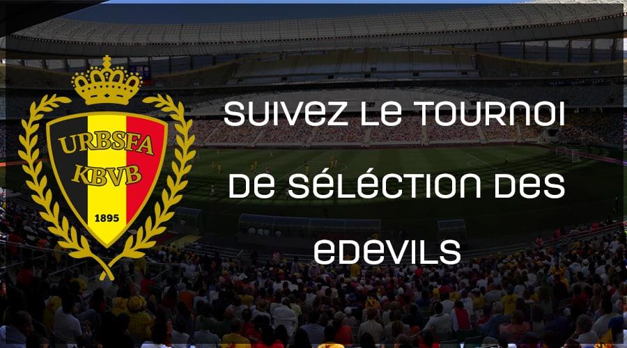 Tournoi de selection edevils - equipe national belge d'esport