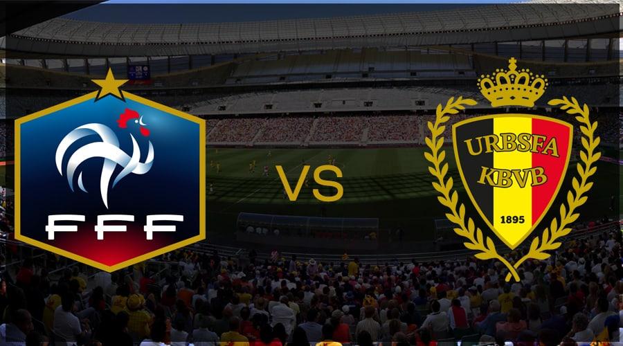 efoot france vs belgian edevils - esport - FIFA