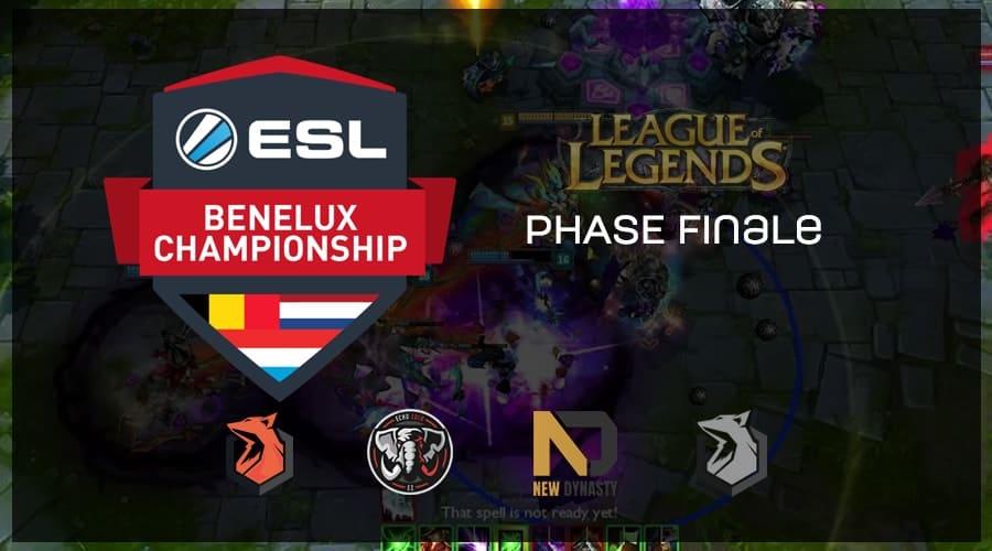 ESL Championship Benelux Summer 2018 - finals