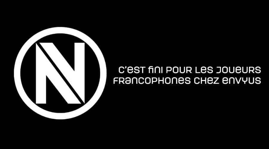 EnVyUs libère les joueurs francophones de leurs contrats