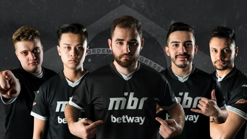 La nouvelle équipe MIBR