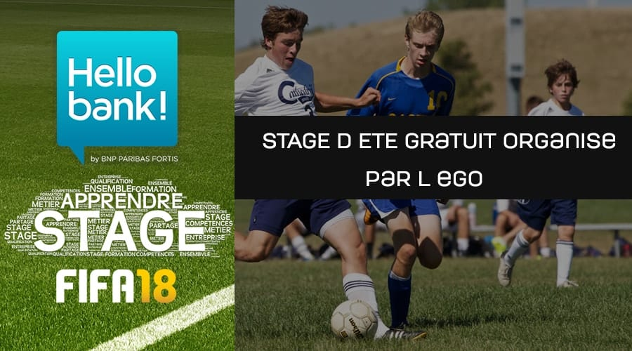 Stage d'ete EGO FIFA