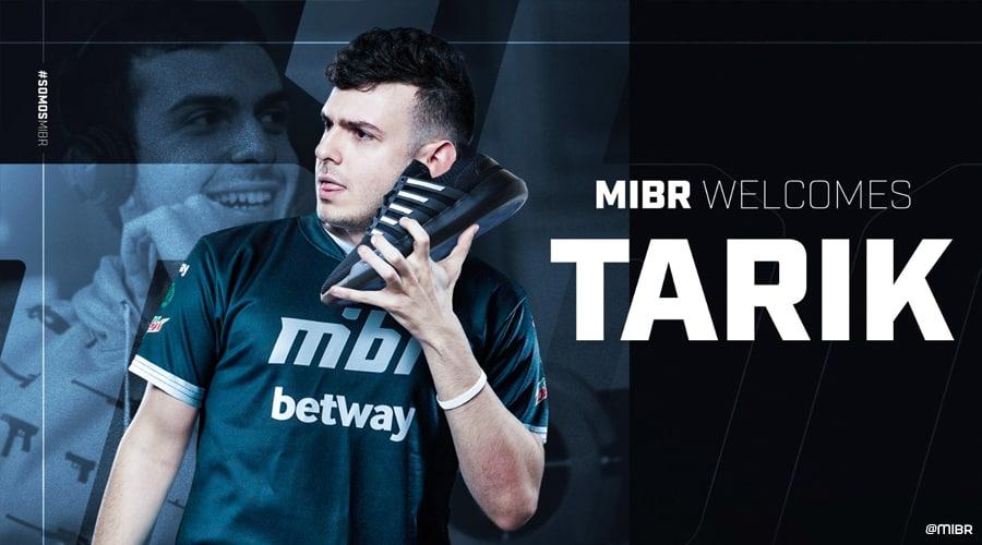 Tarik rejoint MIBR