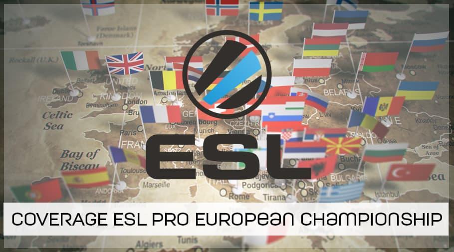 Coverage ESL Pro European Championship