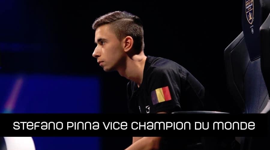 Stefano Pinna Vice champion du monde