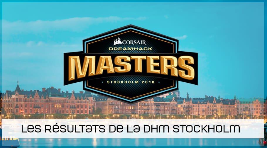 Résultats dreamhack masters stockholm