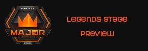 MAJOR FaceIT Londres 2018 - preview Legends stage