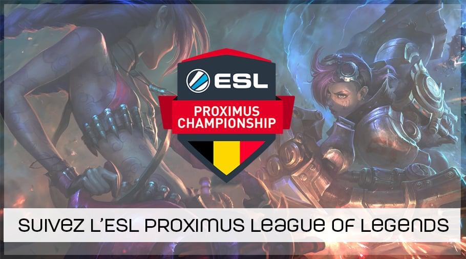 ESL Proximus League of Legends