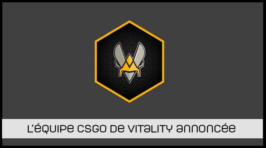 Equipe CSGO Vitality