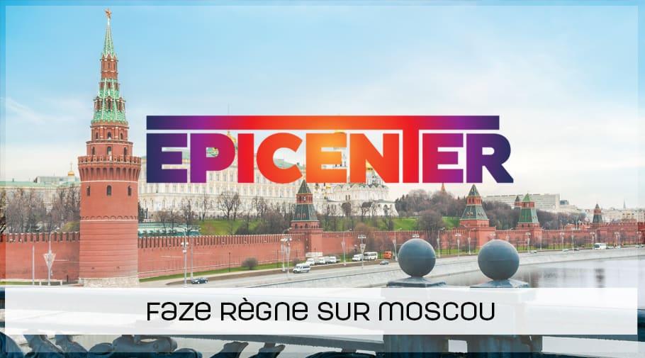 FaZe remporte l'Epicenter 2018 CSGO