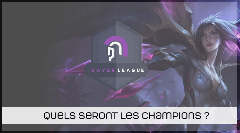 Kayzr league league of legends fall 2018