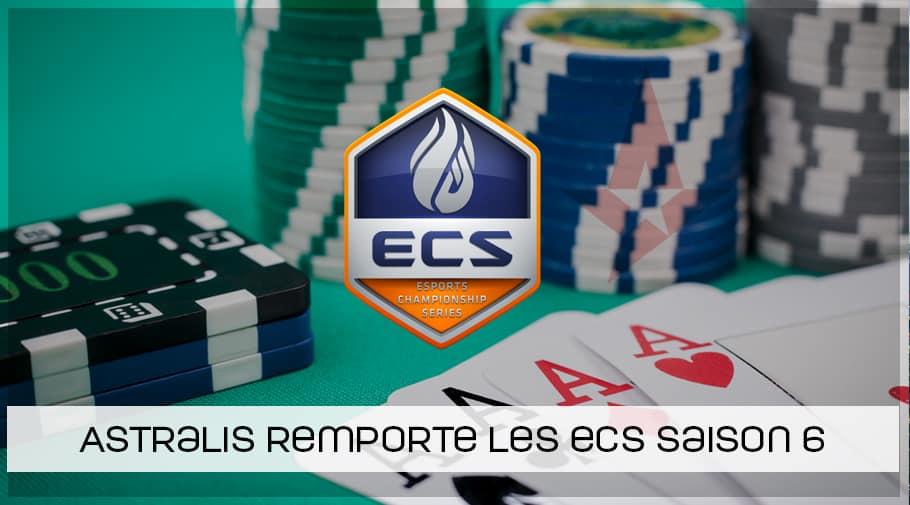 Astralis remporte les ECS Saison 6