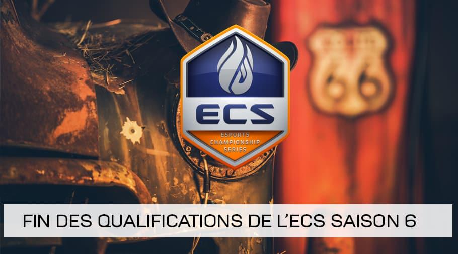 Fin des qualifications pour l'ECS Saison 6