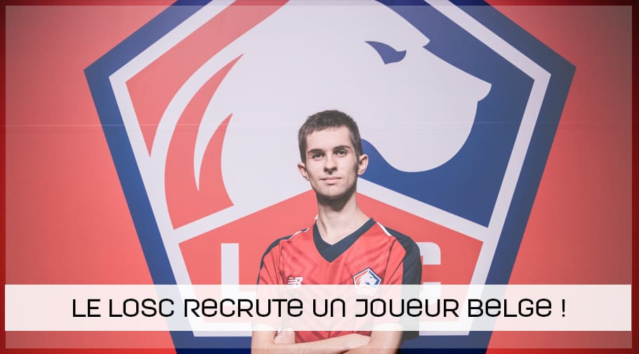 Le LOSC recrute un joueur belge Gilles Bernard à FIFA19