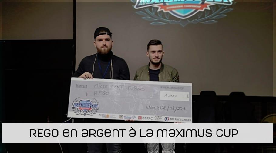 """FIFA19 - Anthony """"REGO"""" Rochetti termine 2ème à la Maximus cup"""