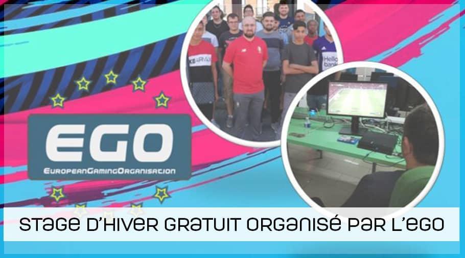 Stage d'hiver FIFA 19 gratuit organisé par l'ego