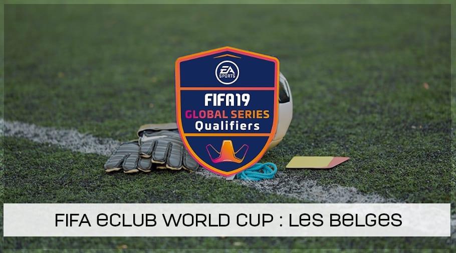 Les Belges à la FIFA eClub World cup