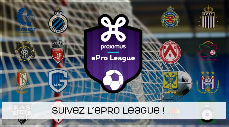 Suivez l'ePro League FIFA 19