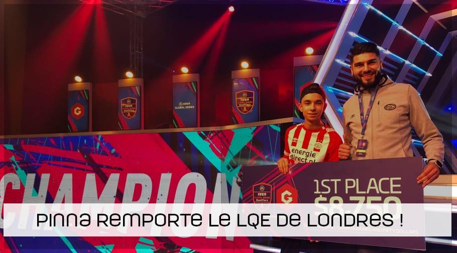 Stefanno Pinna remporte la Gfinity LQE de Londres