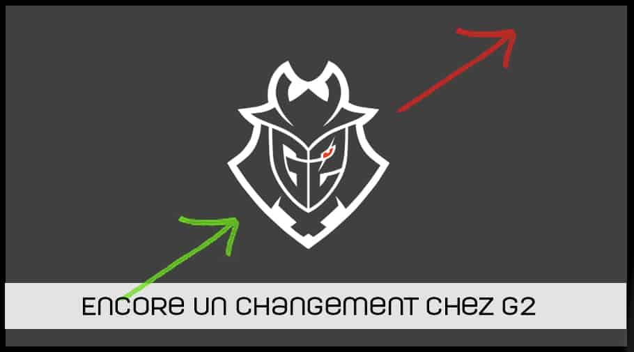 Changement chez G2
