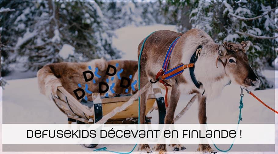 Defusekids CSGO décenvant à la LanTrek en Finlande