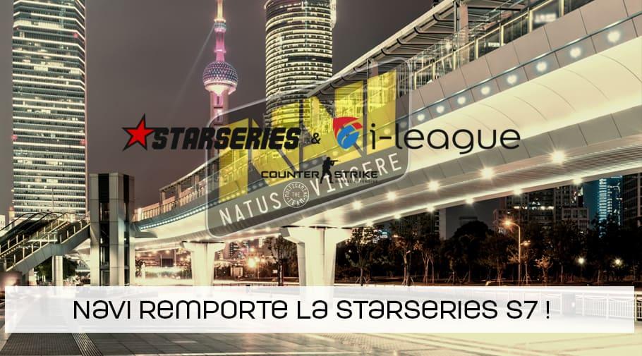 NaVi remporte la StarSeries - i-League CSGO Season 7