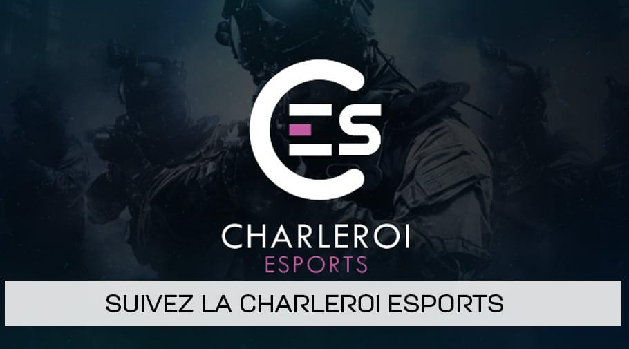 Suivez la Charleroi esports