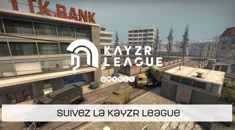 Suivez la Kayzr League édition été 2019