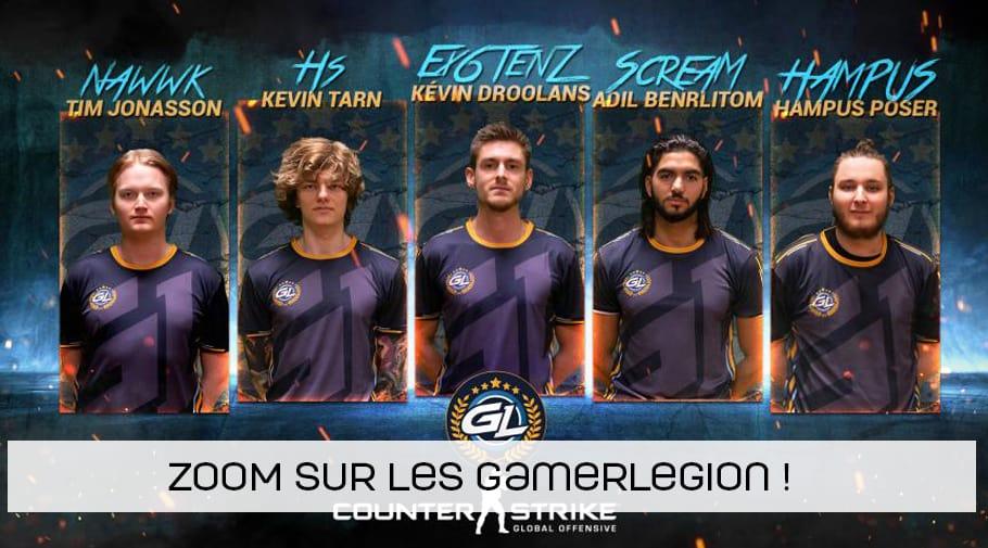 Zoom sur les joueurs de chez GamerLegion