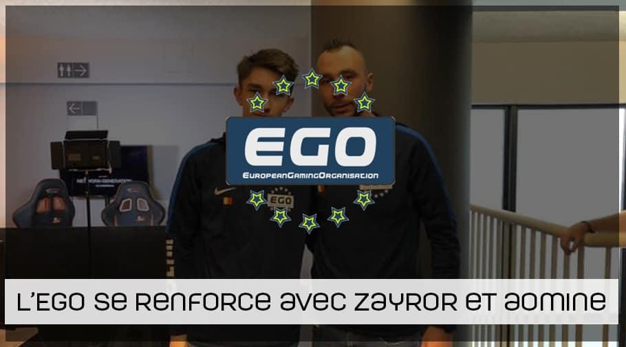 L EGO se renforce avec Zayror et Aomine en coach