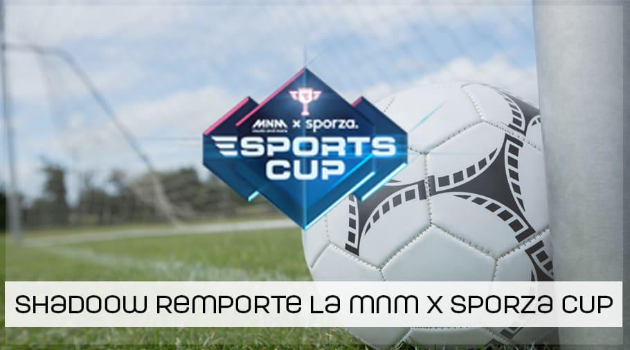 ShadooW remporte la MNP - Sporza Cup FIFA