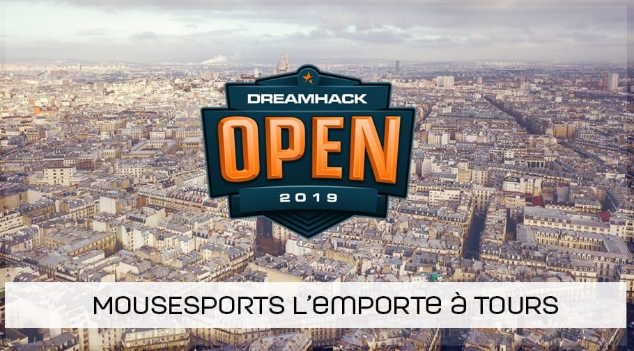 mousesports remporte la DreamHack Open de Tours