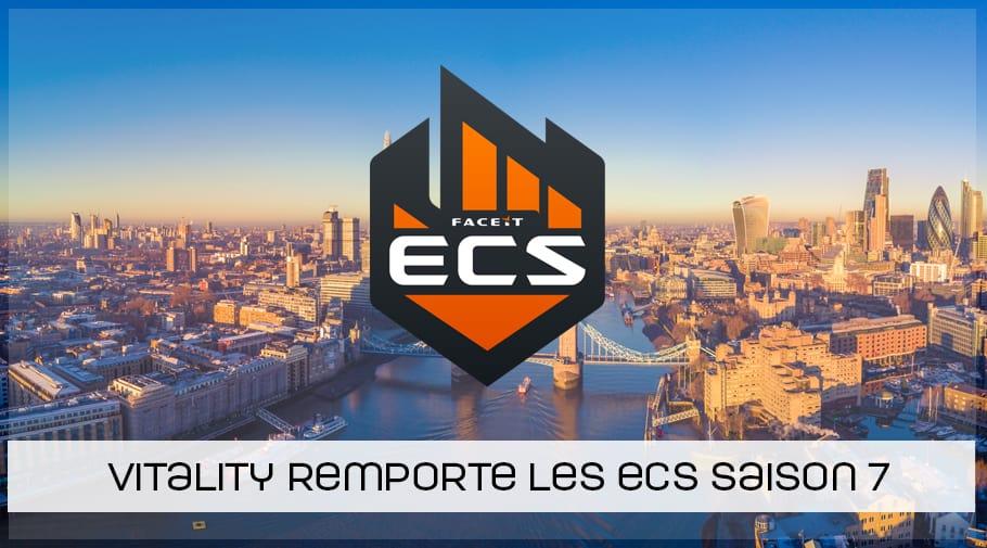 Vitality remporte les ECS Saison 7