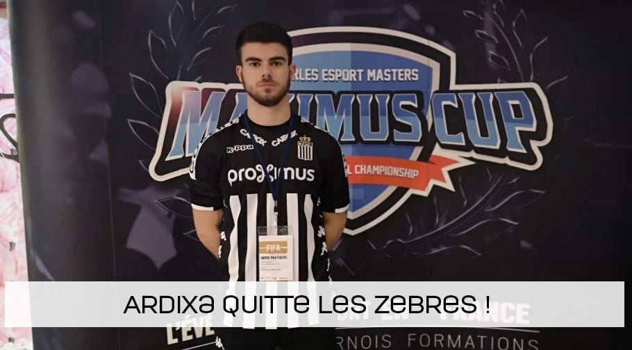 Ardixa quitte le Sporting Club de Charleroi