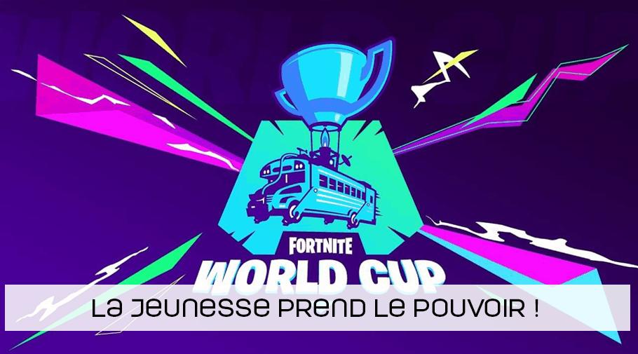 Coupe du monde Fortnite - la jeunesse prend le pouvoir