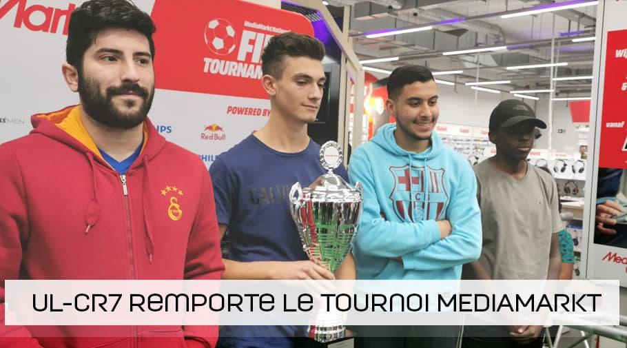 UL-CR7 remporte le tournoi MediaMarkt FIFA 19