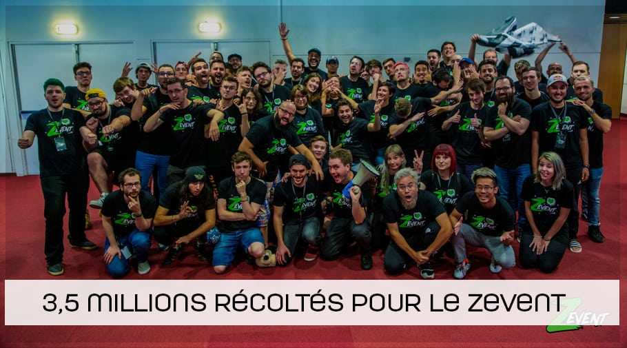 ZEVENT 2019 3,5 millions récoltés pour l'Institut Pasteur