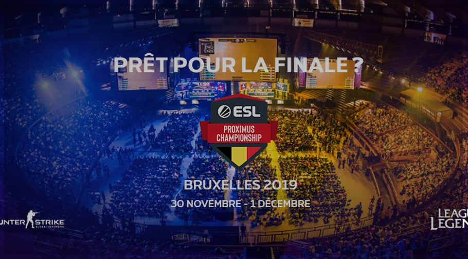 ESL Proximus 2019 la finale