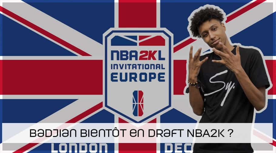 Le Belge Badjian invité aux qualifications Europe pour la NB2K Draft 2K League