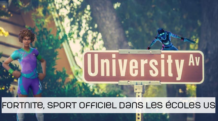 Fortnite devient un sport officiel au sein des écoles américaines