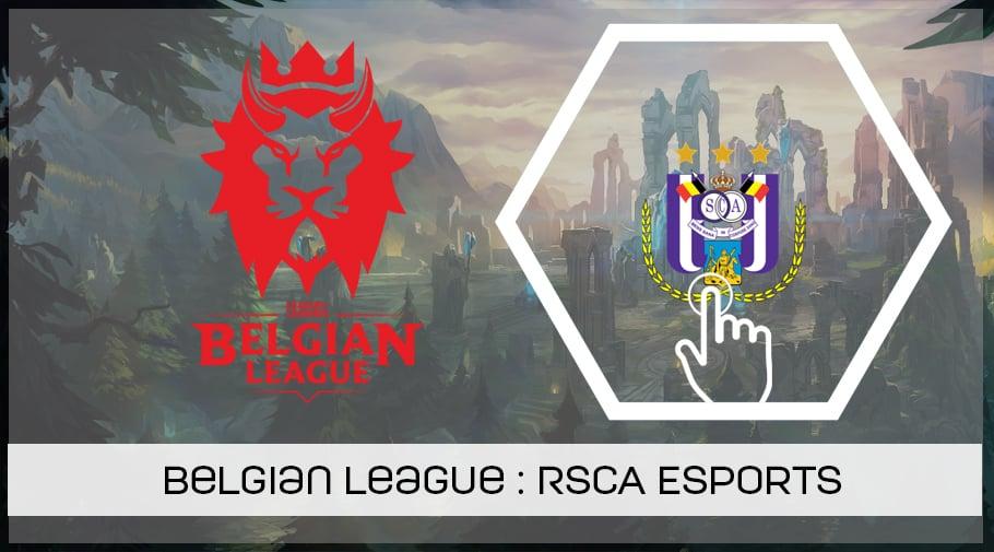 LoL Belgian League - présentation du RSC Anderlecht Esports