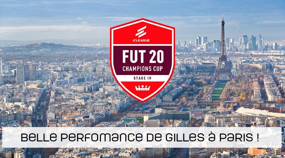 Belle performance du belge Gilles à la Fut Cup 4 de Paris - FIFA20