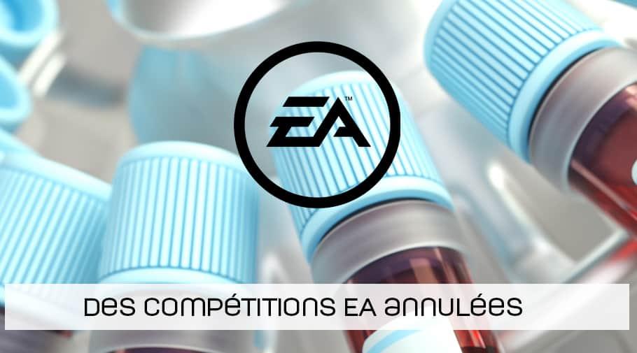 Des compétitions EA Sports annulées pour cause de Coronavirus