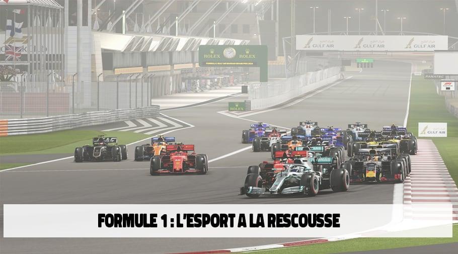 La Formule 1 passe aux courses virtuelles durant le Coronavirus