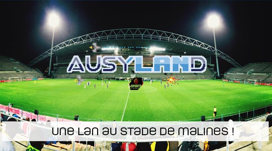 Une LAN au stade de football de Malines