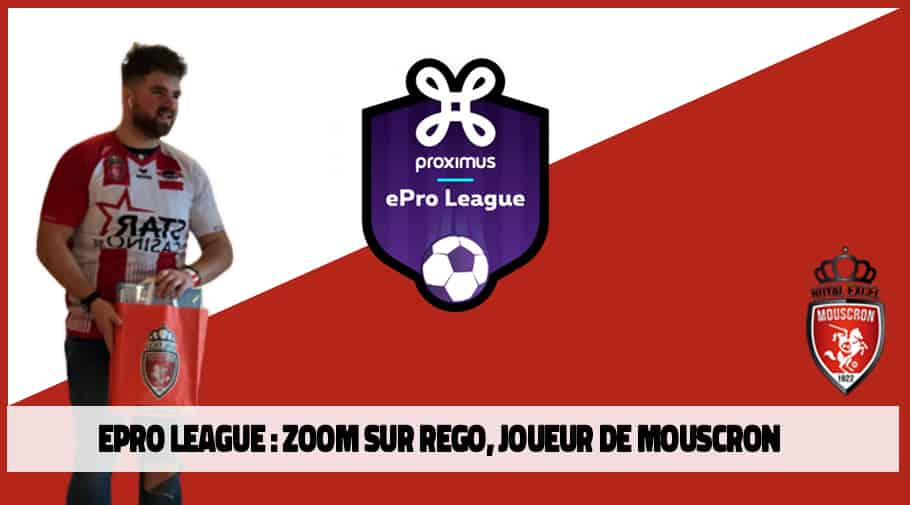 ePro League FIFA 20 - interview Rego - Royal Excel Mouscron