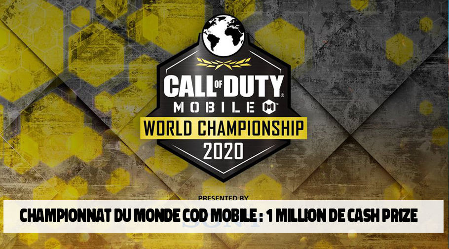 Call of Duty Mobile - un tournoi avec 1 million de dollars de cash prize
