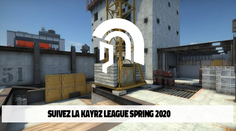 Kayzr league spring 2020 - league csgo Benelux