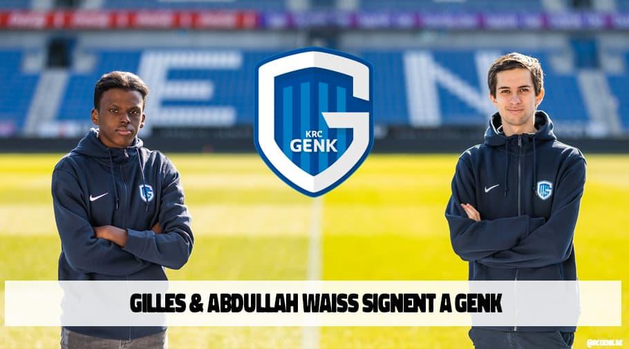 Le KRC Genk signent 2 joueurs FIFA